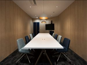 会議室(株式会社アクシス 東京オフィス)