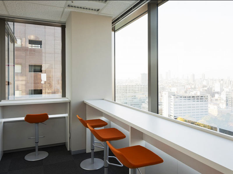 休憩室(日本ジェネティクス株式会社)