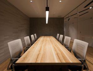 会議室(株式会社YCMリアルエステートインターナショナル)
